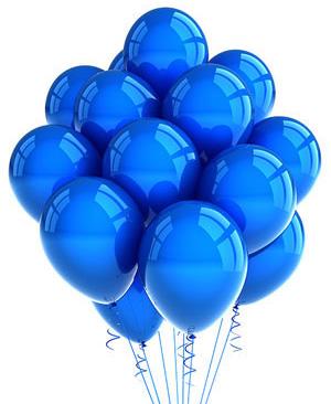 Kék lufik